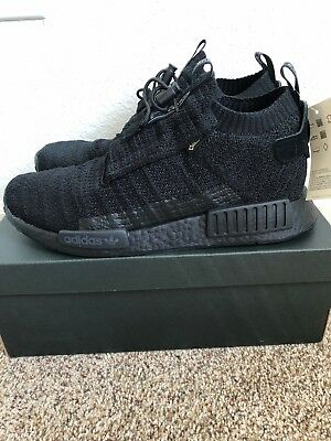 41583be421f Adidas Nmd Ts1 Pk Gtx Us Mens Size 9.5 Aq0927 New With Box Boost Triple  Black
