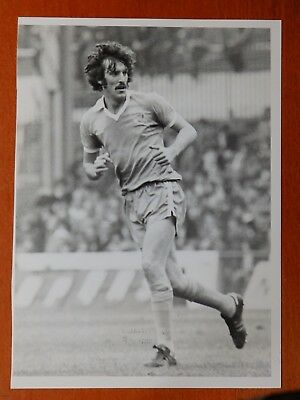Football stock Press Photograph Tony Booth Manchester City 1978