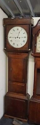 Antique Mahogany Longcase Grandfather Clock Edward & Son Shrewsbury