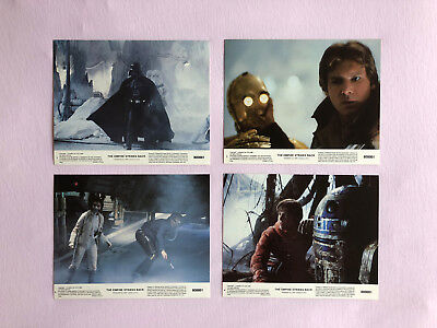 Star Wars Empire Strikes Back Original 1980 Vintage Mini 8x10 Lobby Cards Set 8