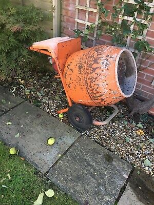 Belle Cement Mixer Honda Petrol Engine complete with stand.