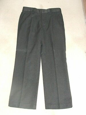 Boys Grey School Trousers 2 x Pairs Next Age 12 Brand New Without Tags