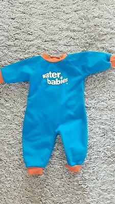 Water babies wetsuit and matching happy nappy.