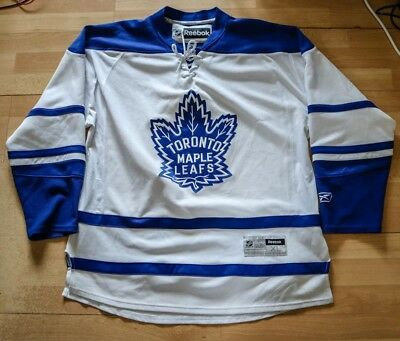 Reebok NHL Toronto Maple Leafs Retro Ice Hockey Jersey Shirt Top RARE! XL
