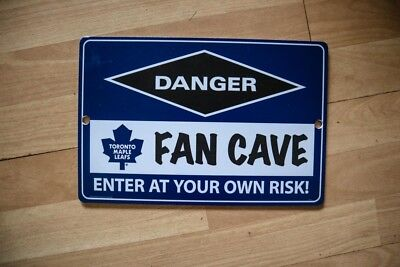NHL Toronto Maple Leafs Retro Ice Hockey Fan Man Cave sign
