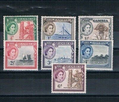 Gambia MLH Stamps lot a4
