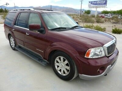 2003 Lincoln Navigator  2003 LINCOLN NAVIGATOR 4WD PREMIUM 106000 MILES ONE OWNER CALIFORNIA CAR XINT !!