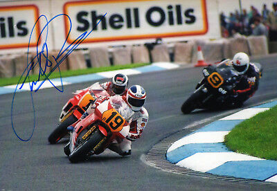 Original Autograph   Freddie Spencer  Usa