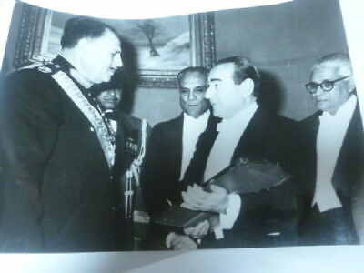 Foto Field Marshal Mohamemad Ayub Khan Pakistan  Monderes Prime Turkey 1959