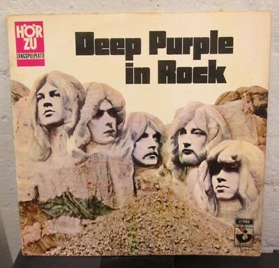 "LP - DEEP PURPLE - DEEP PURPLE IN ROCK - german "" HÖR ZU ""  - Press - FOC"