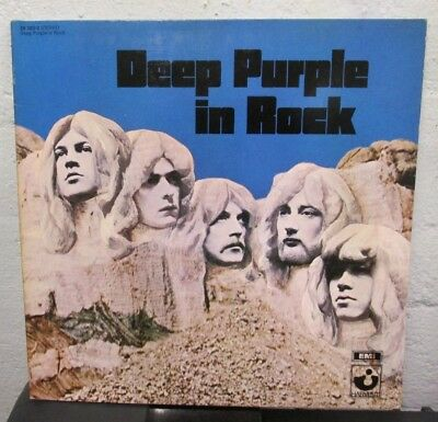 "LP - DEEP PURPLE - DEEP PURPLE IN ROCK - german ""CLUB EDITION""  - Press - FOC"