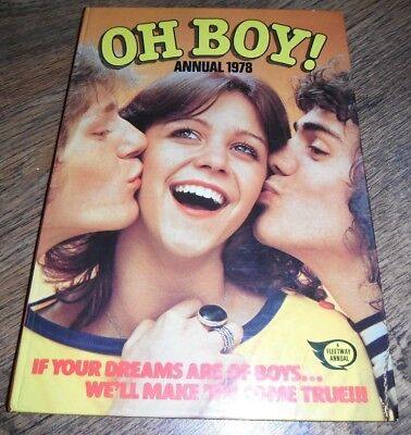 Oh Boy 1978 Annual Bay City Rollers Starsky And Hutch David Essex Mike Holoway
