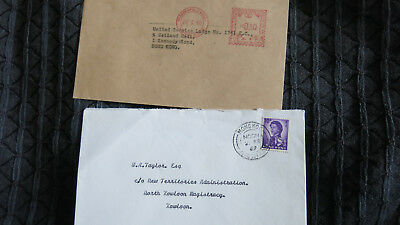 9 x Hong Kong China Covers 1954 to 1969 Gillies Avenue Beaconsfield House