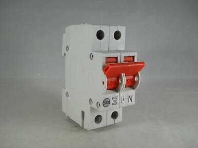 Wylex Main Switch Disconnector 100 Amp Double Pole Isolator 100A WS102