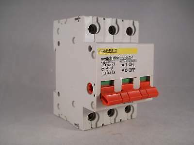 Square D KQ 125 Amp Main Switch Loadcentre 125A Triple Pole Isolator KQ125SW3L