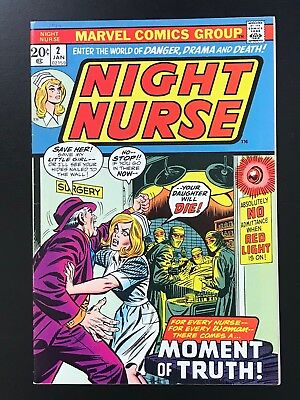 NIGHT NURSE #2 (1973) High Grade VF