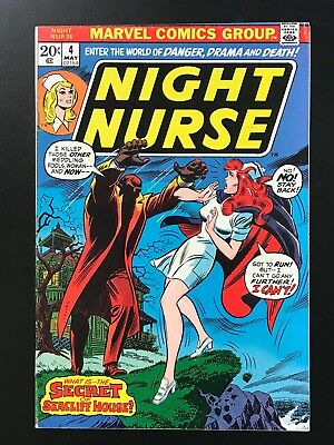 NIGHT NURSE #4 (1973) Higher Grade FN/VF