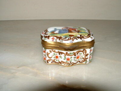 Meissen, Pill/Trinket Box