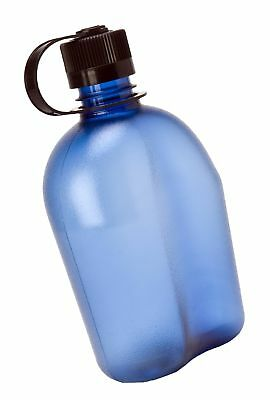 Nalgene BPA Free Tritan Oasis Canteen 32 Oz Narrow Mouth Bottle Blue