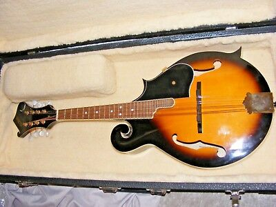 Beautiful Condition Florian Mandolin In Hard Case Gorgeous Sound F  Type