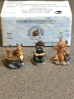 Boyd's Kringle's Village Miniature Reindeer Set