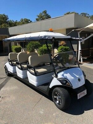 Yamaha 6 or 8 Seat electric golf cart buggy - The New i6 and i8 is out now