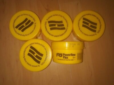 5 tubs of Powerflow flux