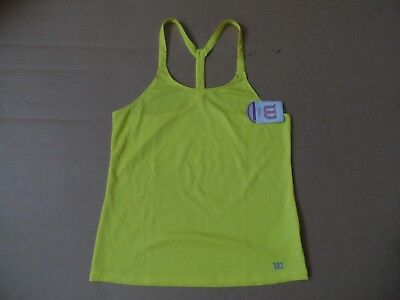 Women's Wilson  Tennis Tour Tank Vest Size Medium NEW