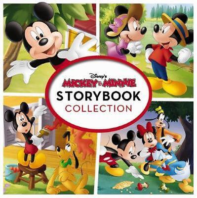 Mickey & Minnie Storybook Collection Hardcover Book Free Shipping!