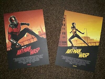 Ant-Man and the Wasp Poster Set