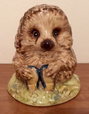 Vintage Beswick Beatrix Potter RARE  OLD MR PRICKLEPIN 1983