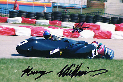 Original Autograph   Ralph Bohnhorst  D - Ken Williams  Gb