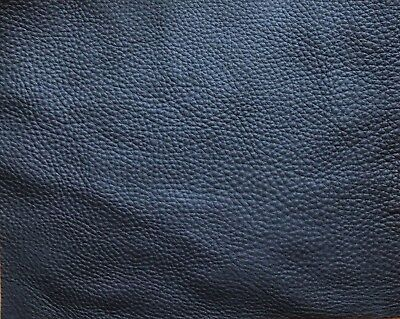 2.5mm Black Full grain leather pieces aniline dyed soft cowhide various sizes
