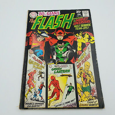 80Pg. Giant The Flash #178 Silver Age DC Comics G/VG