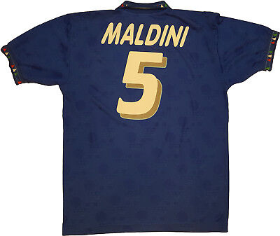 fe07c8ea01a16 maglia Maldini diadora ITALIA 1994 USA 94 world cup mondiale match worn  player