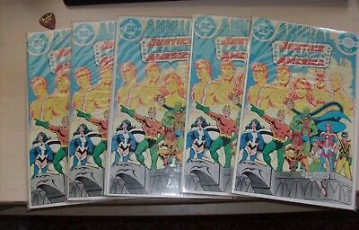Justice League of America Annual #2  1st Vibe (x5 High Grade copies)