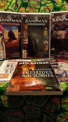 Neil Gaiman The Sandman Comic Lot