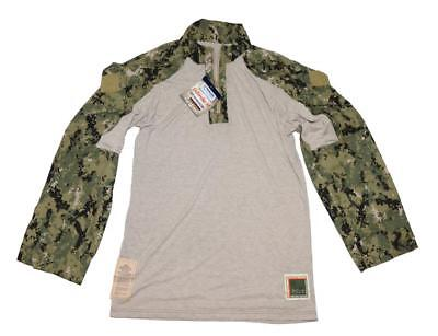 DriFire US Navy NWU Type III AOR2 FROG Combat Shirt - MED - SEAL NSW SWCC Crye