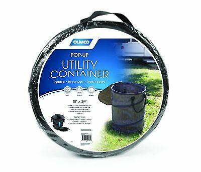 """Camco Collapsible Pop-Up Utility Trash Can Container (18"""" x 24"""")"""