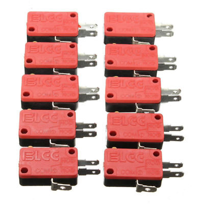 Arcade microswitch button Zippy replacement 3T 10Pcs Push Button Micro Switch