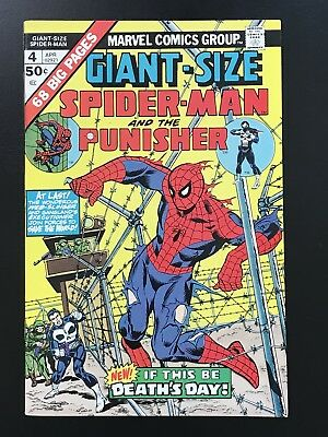 GIANT-SIZE SPIDER-MAN #4 (1975) High Grade Key! 3rd App Punisher VF/NM