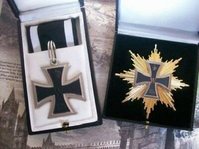 WW1 WWI Imperial German Prussian Hindenburg Star Grand Knights Iron Cross Set
