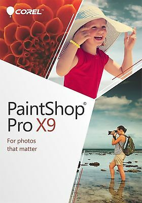 Corel Paintshop Pro X9(PC) -Activation / Key - Download Code NEW