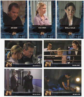 24 Season 4 Trading Card Set (1-90) Twenty Four Jack Bauer
