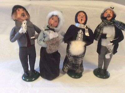 "Byers's Choice Lot  ""The Carolers"" 1987 and 1988 Signed"