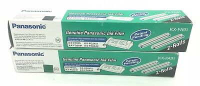 Panasonic 4 Rolls Replacement Film Cartridge Digital Answering System KX-FA91