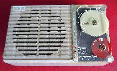 Early NEC NT-61 Transistor Radio As-is