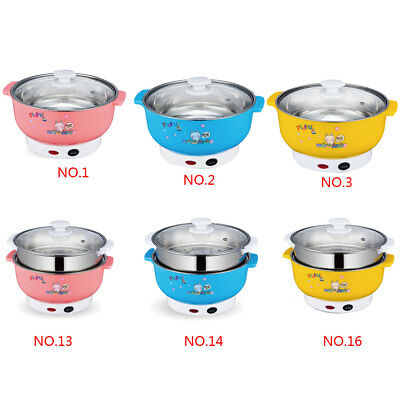 Mini Rice Cooker Electric Lunch Box Electric Heating Steamer Egg Cooker