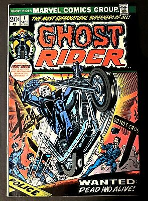 Ghost Rider #1 Sep 1973 High Grade Rare find! First appearance Son of Satan! Key