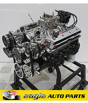 Chev 350 , 330Hp Vortec Roller Cam Engine / Rab Serpentine Kit # Chev-330-Billet